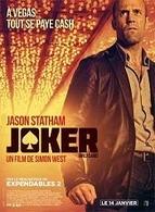 Joker le nouveau film de Simon West en salle le 14 janvier 2015.