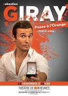 """One man Show """"Sébastien Giray passe à l'orange"""" au Théâtre de Dix Heures"""