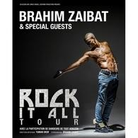 Brahim Zaibat à l'affiche avec Brahim Zaibat - Rock It All Tour au Casino de Paris