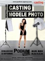 Podium Agency à Montpellier recherche modèles photos entre 14 et 24 ans