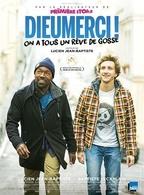 """L'humoriste Baptiste Lecaplain et le réalisateur Lucien Jean-Baptiste partagent l'affiche de """"Dieumerci"""""""