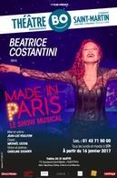 """Les meilleurs classiques revistés par Béatrice Constantini, une artiste """"Made in Paris"""" au théâtre BO Saint Martin"""