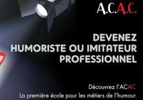 Casting.fr vous présente la première école des métiers de l'humour: l'A.C.A.C