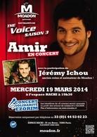 Amir et Jérémy Ichou, candidats de The Voice 3, vous offrent un concert exceptionnel !