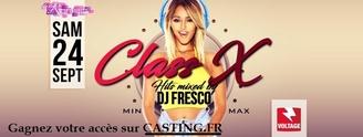 Sortez à la soirée ClassX, 30 invitations à gagner grâce à Casting.fr