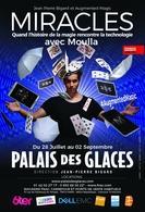 """Magie et technologie vous attendent au Palais des Glaces dans le spectacle """"Miracles"""" de Moulla !"""