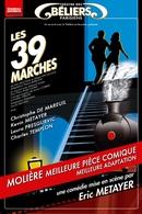 """""""Les 39 marches"""": Une jubilatoire démonstration de la magie théâtrale"""