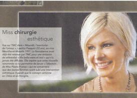 Evènement ! Devenez la Miss Plastic France 2011 !