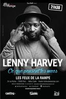 Lenny Harvey s'installe aux Feux de la Rampe
