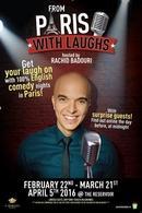 Venez rire 100% english avec Rachid Badouri, casting.fr vous offre des places