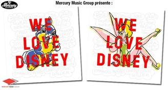 """""""We love Disney"""", un album d'exception revisitant les plus grands classiques de Disney"""