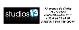 Studios 13 partenaire Officiel de Casting.fr !
