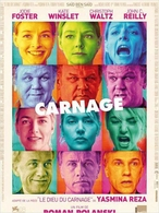 "Le film ""Carnage"" en DVD et Blu Ray à partir du 11 Avril !"