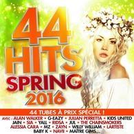 44 Hits Spring 2016, la compile de votre été est enfin disponible!