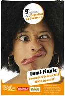 Découvrez la 9ème édition des Tremplins de l'Humour !