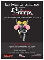 Stage théâtral le samedi 22 et dimanche 23 novembre avec Frédéric Yana au Théâtre Les Feux de la Rampe