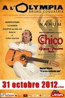 Chico fait L'Olympia le 31 octobre a 20H30 !