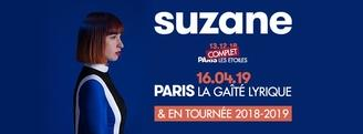 Suzane est en concert le 13 décembre à la salle Les Étoiles. C'est complet, mais on vous offre des places.