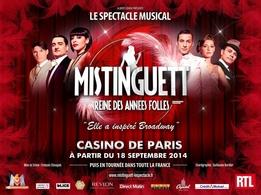 Comédie musicale Mistinguett Reine des années Folles, casting.fr vous invite!