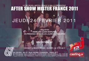 Mister France 2011 sur NRJ12