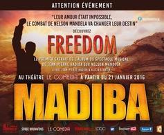 Découvrez la comédie musicale: Madiba Le Musical, casting.fr est partenaire