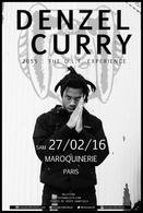 Denzel Curry à la maroquinerie, un artiste rap qui envoie du lourd sur scène