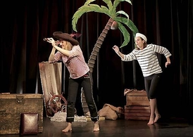 """Aux armes moussaillons préparez-vous pour l'amarrage avec """" La Pirate Ecologique"""" au Théâtre de la Contrescarpe"""