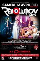 """""""Révolution Paris"""" le 13 Avril à L'Olympia !"""