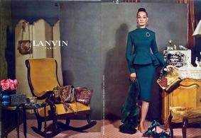 Des égéries comme vous et moi pour la nouvelle campagne Lanvin !
