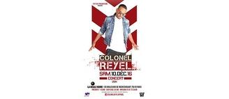 ATTENTION EVENEMENT : Gagnez vos places pour le concert du colonel Reyel ce samedi 10 décembre !