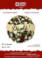 """Une artiste de Casting.fr est à l'affiche de """"Désolé"""", une pièce de théâtre de Mathieu Legrand au Théâtre Trévise, allons la voir !"""
