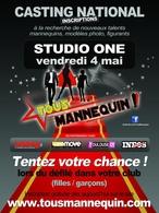 """Participez au grand casting national """"Tous Mannequin"""""""