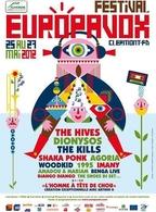 Le Festival Europavox à Clermond-Ferrand du 25 au 27 Mai !