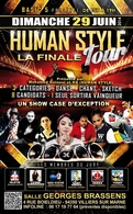 Casting.fr vous invite à la finale du Human Style Tour, une detonante battle artistique  le 29 juin