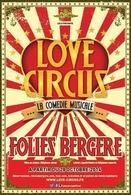 Love Circus, la nouvelle Comédie musicale de Stéphane Jarny avec Fanny Fourquez