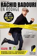 Casting.fr vous invite au théâtre de dix heures pour assister aux prémices du nouveau spectacle de Rachid Badouri