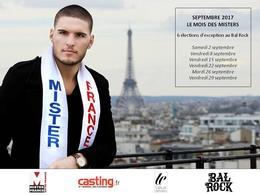 Casting.fr vous invite aux élections de Mister Ile-De-France qui se dérouleront au Bal Rock