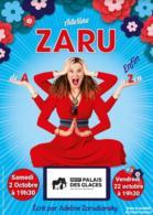 """Autodérision et humour! Volontaire et drolissime, Adeline Zaru présente """" de A à enfin Zen """" au Petit Palais des Glaces le 22 octobre à 19h30 ! Coup de coeur assuré."""