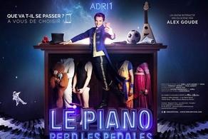 Le piano perd les pédales, du 2 avril au 30 juin au Mélo d'Amélie