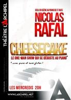 """""""Cheesecake"""" l One man show de Nicolas Rafal qui se déguste au piano au Théâtre de l'Archipel"""