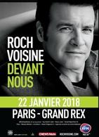 Demandez vos invitations pour Roch Voisine en concert au Grand Rex de Paris et en tournée dans toute la France !
