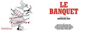 """Le banquet"" de Mathilda May au théâtre du Rond-Point"