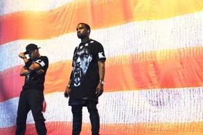 Jay-z et Kanye West achèvent leur tournée européenne ce soir à Paris Bercy !