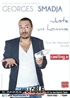 """Georges Smadja vous raconte les joies de la paternité dans son nouveau spectacle """"Juste un homme"""" sur Casting.fr"""