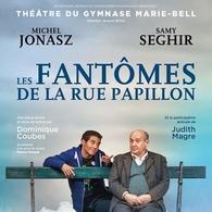 """Michel Jonasz et Samy dans « Les Fantômes de la rue Papillon"""". Deux grands comédiens pour un sujet dense et si actuel..."""