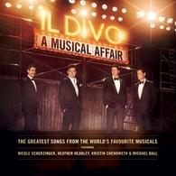L'Album « A Musical Affair » du groupe Il Divo est maintenant disponible