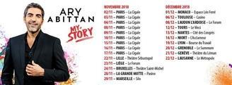 Succès et standing ovation pour ARY ABITTAN à Paris ! MY STORY part en tournée...