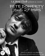Gagnez vos places pour le concert privé de Pete Doherty ce Jeudi 27 Mars 2014 !