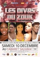 Une soirée sensuelle venue tout droit des caraïbes vous attend, Les Divas du Zouk sont au Cabaret Sauvage ce samedi 10 décembre