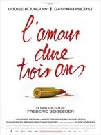 """Le film """"L'Amour dure trois ans """" en salle le 18 janvier !"""